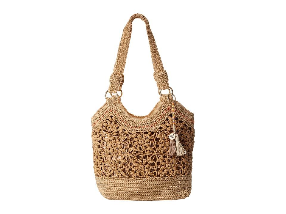 The Sak - Ellis Tote (Natural Flower) Tote Handbags