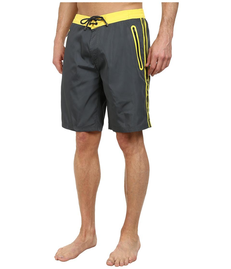 BOSS Hugo Boss Alligatorfish 101827 Charcoal Mens Swimwear