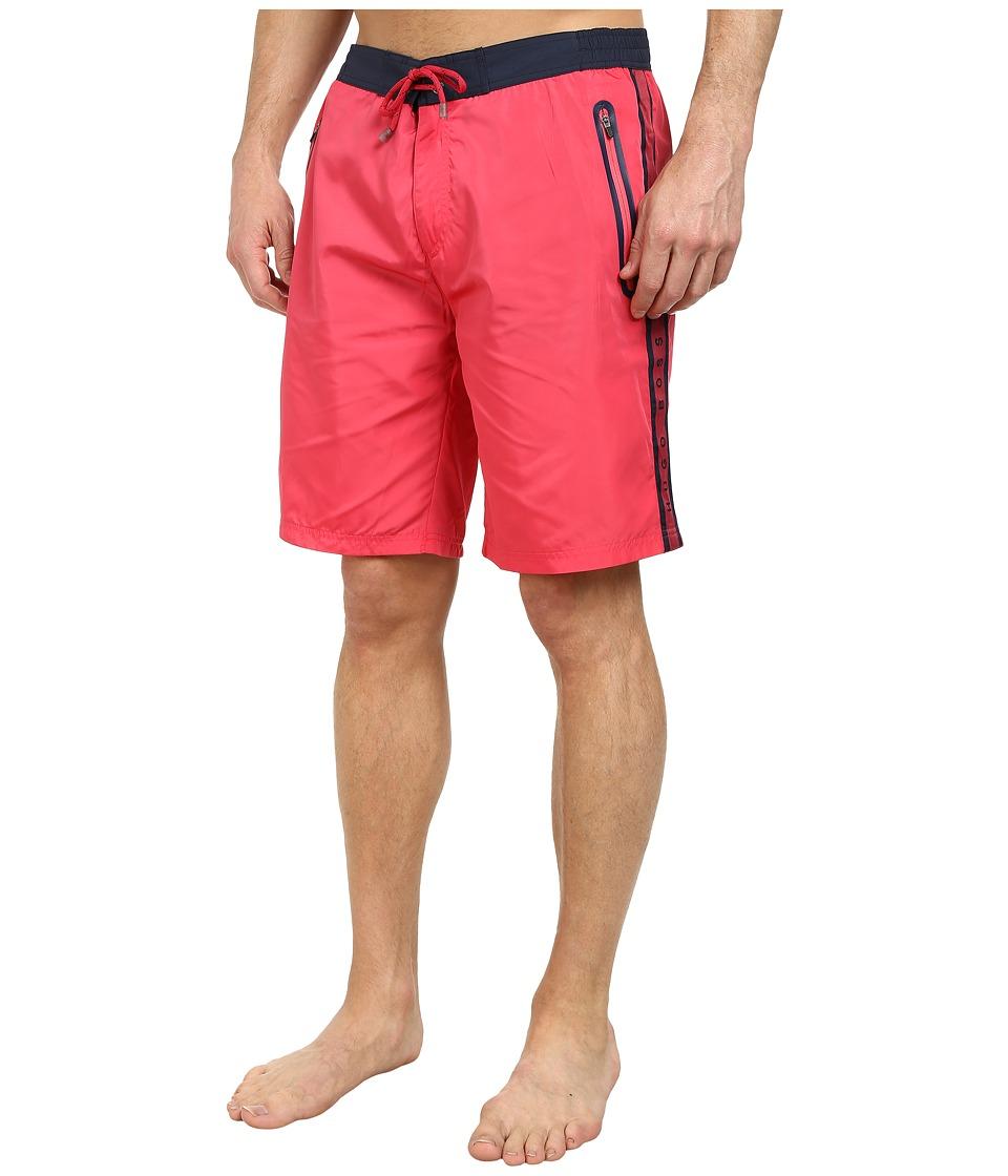 BOSS Hugo Boss Alligatorfish 101827 Dark Pink Mens Swimwear