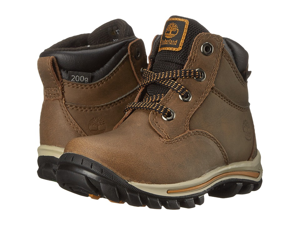 Timberland Kids Chillberg Mid Waterproof Insulated (Toddler/Little Kid) (Light Brown) Kids Shoes