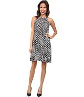 MICHAEL Michael Kors - Print Matte Jersey Halter Dress