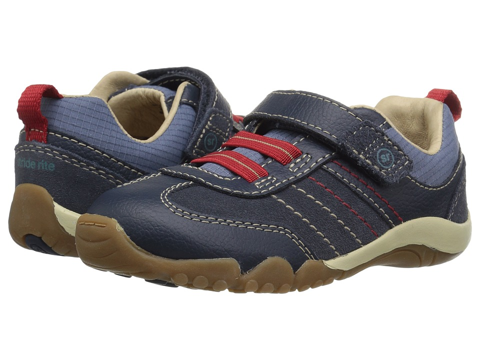 Stride Rite SRT Prescott (Toddler) (Blue) Boy's Shoes