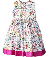 Oscar de la Renta Childrenswear - English Garden Cotton Dress (Toddler/Little Kids/Big Kids)
