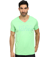 BOSS Hugo Boss - Short Sleeve V-Neck BM 10144 Boss logo SPF Tee