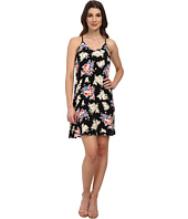 Karen Kane - Rose Print T-Back Dress
