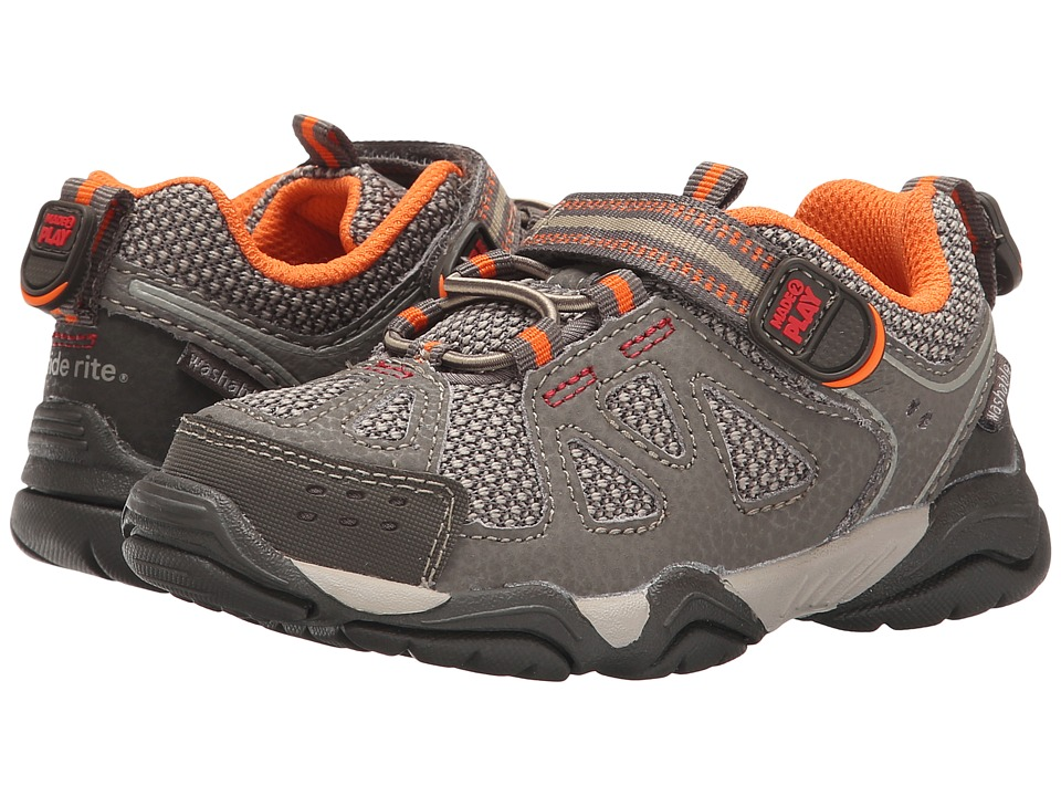 Stride Rite Made 2 Play Ian (Toddler/Little Kid) (Taupe) Boy's Shoes