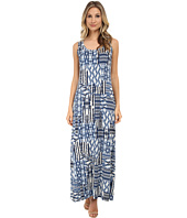 Karen Kane - Patch Tile Maxi Dress