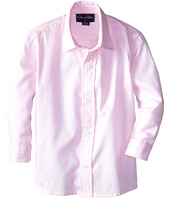 Oscar de la Renta Childrenswear - Long Sleeve Micro Pique Dress Shirt (Toddler/Little Kids/Big Kids)
