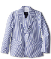 Oscar de la Renta Childrenswear - Seersucker Blazer (Toddler/Little Kids/Big Kids)