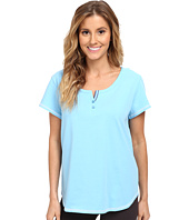 Karen Neuburger - Tuileries Short Sleeve Henley Top