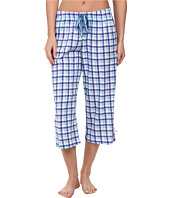 Karen Neuburger - Tuileries Plaid Crop Pants