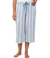 Karen Neuburger - Plus Size Tuileries Stripe Crop Pants