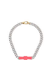 Marc by Marc Jacobs - All Tied Up Rubberized Large Bow Tie Necklace