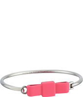 Marc by Marc Jacobs - Ribberized Medium Bow Tie Hinge Cuff Bracelet