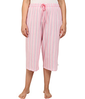 Karen Neuburger - Plus Size Cherie Stripe Crop Pants