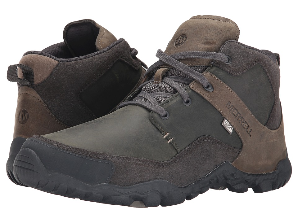 Merrell - Telluride Mid Waterproof (Granite) Men