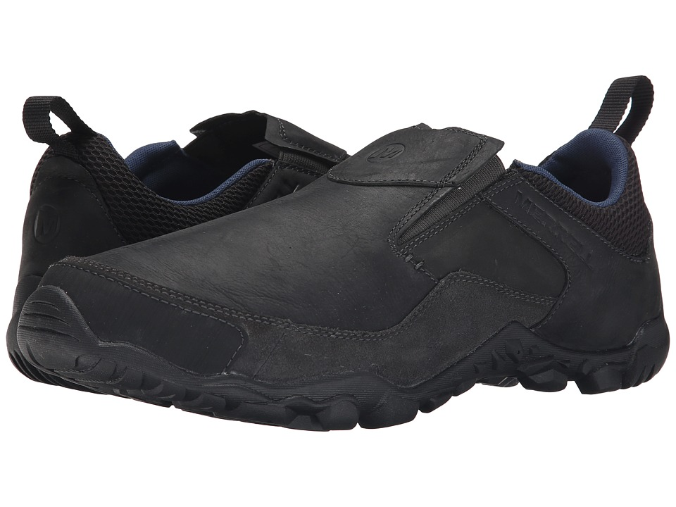 Merrell - Telluride Moc (Black) Men