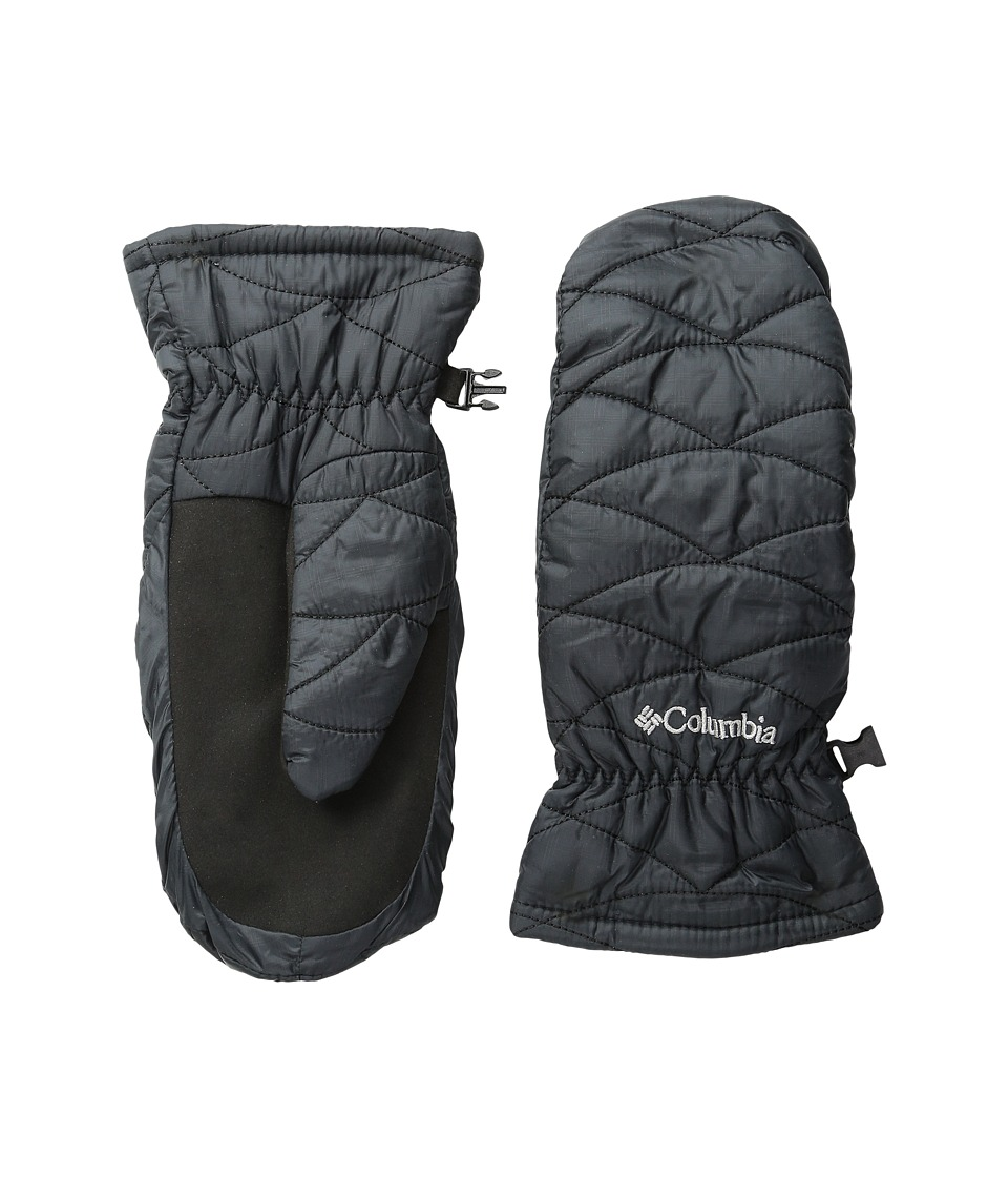 Columbia Mighty Litetm Mitten (Black) Extreme Cold Weather Gloves