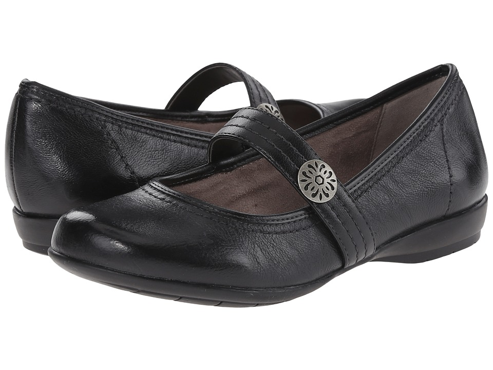 Naturalizer - Garrison (Black Leather) Women