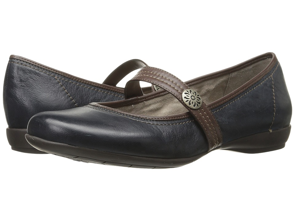 Naturalizer - Garrison (Classic Navy/Bridal Brown Leather) Women