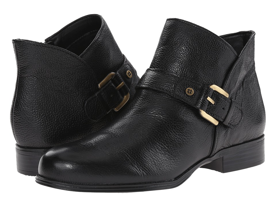 Naturalizer - Jarrett (Black Leather) Women's  Boots
