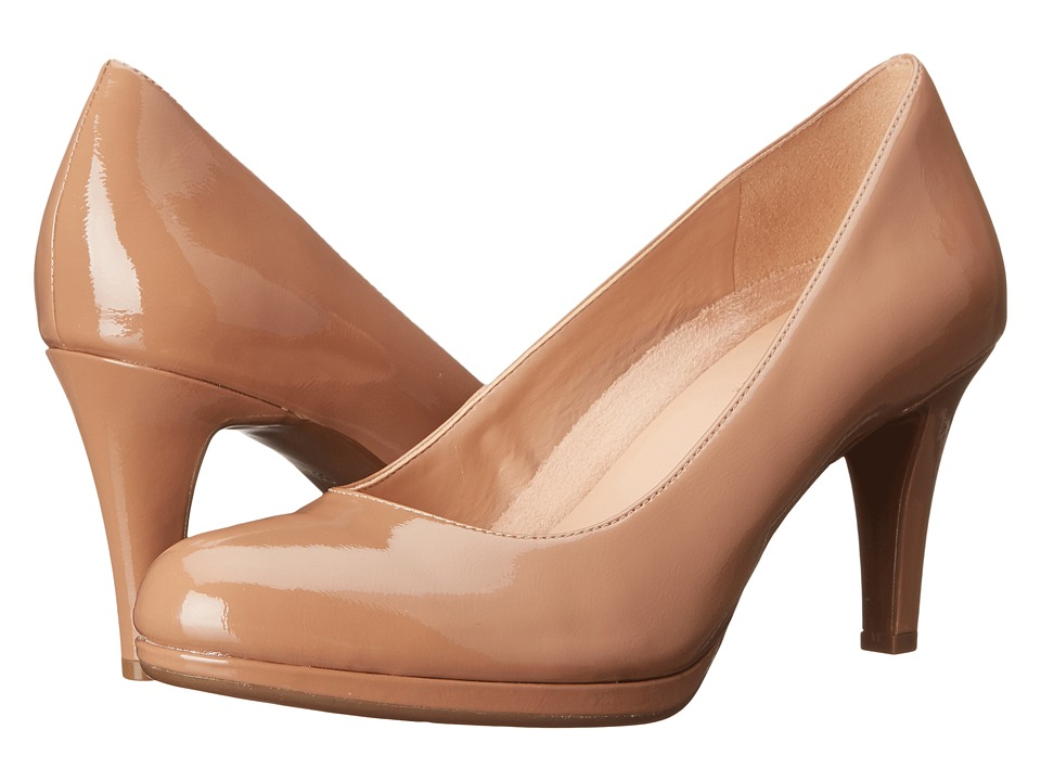 Naturalizer Michelle Nude Shiny High Heels