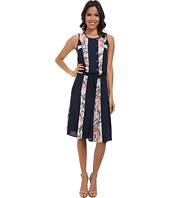 BCBGMAXAZRIA - Courtnee Print Striped Dress
