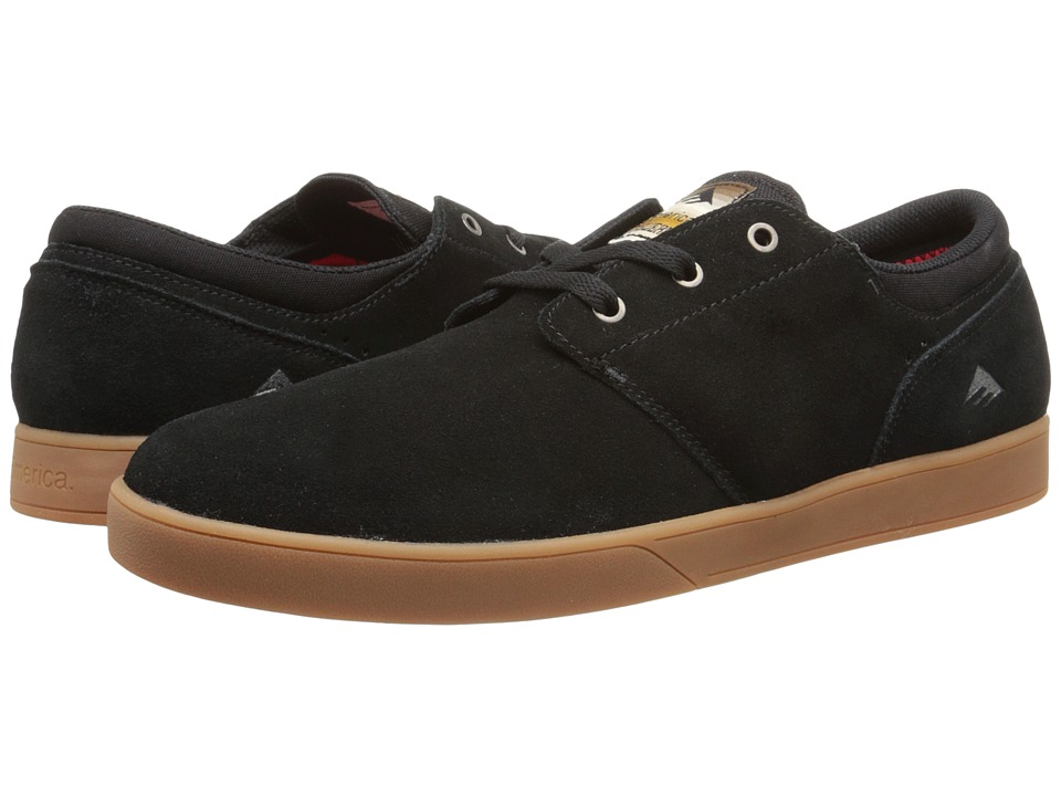 Emerica - The Figueroa (Black/Gum) Men