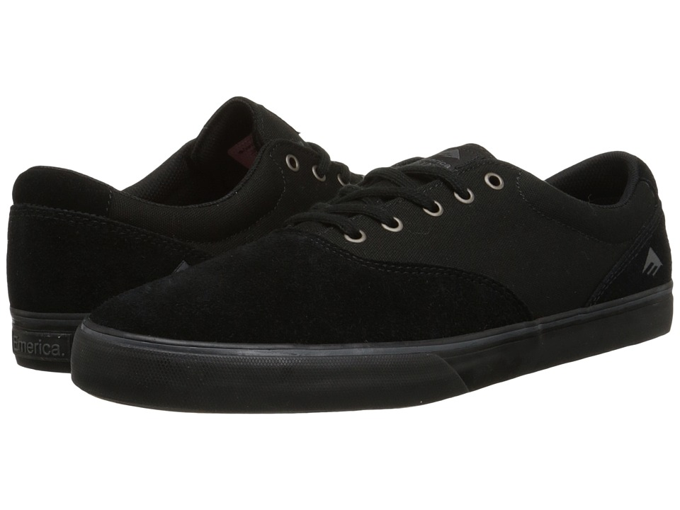 Emerica The Provost Slim Vulc (Black/Black) Men