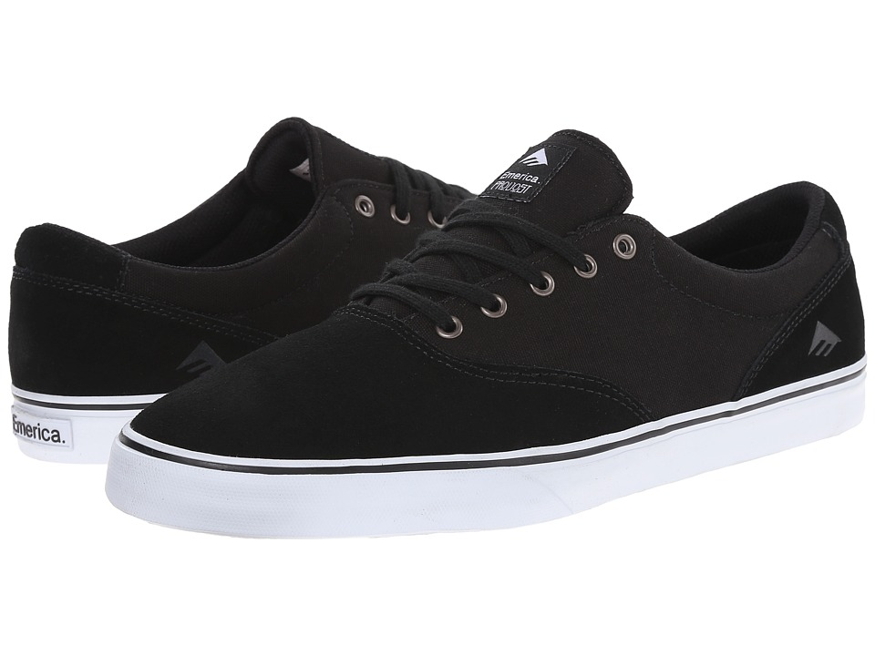Emerica - The Provost Slim Vulc (Black/White) Men