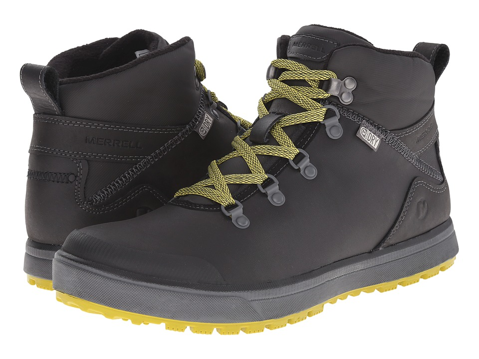 Merrell - Turku Trek Waterproof (Black) Men