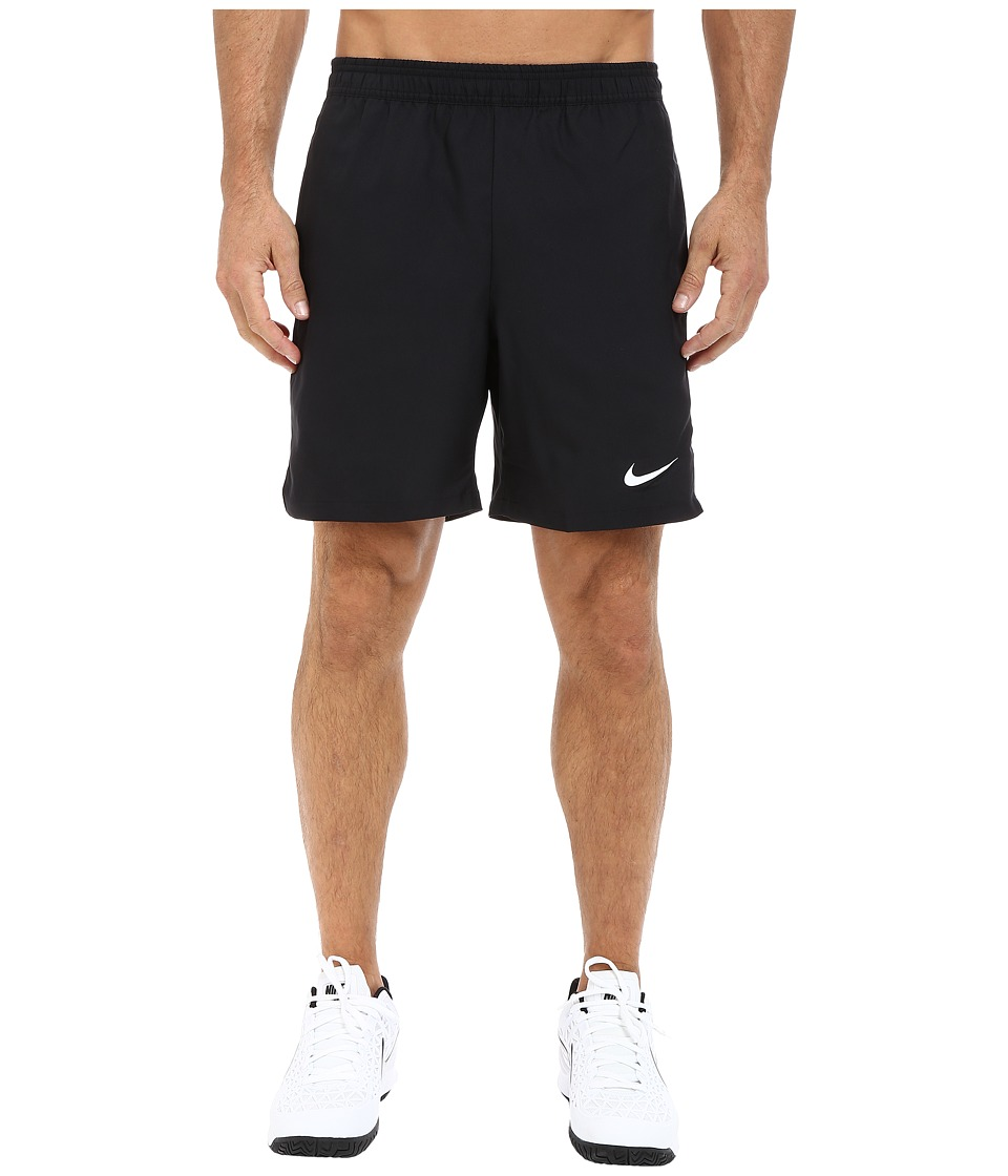 Nike Court 7 Shorts Black/White/Black/White Mens Shorts