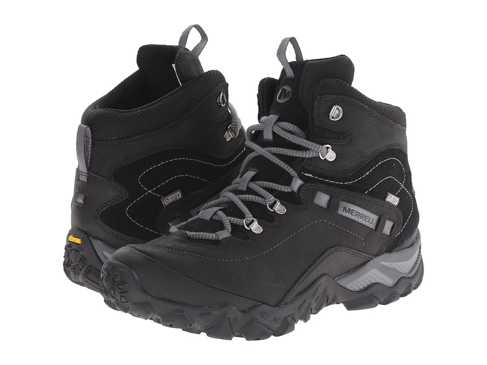Merrell - Chameleon Shift Traveler Mid Waterproof (Black) Women