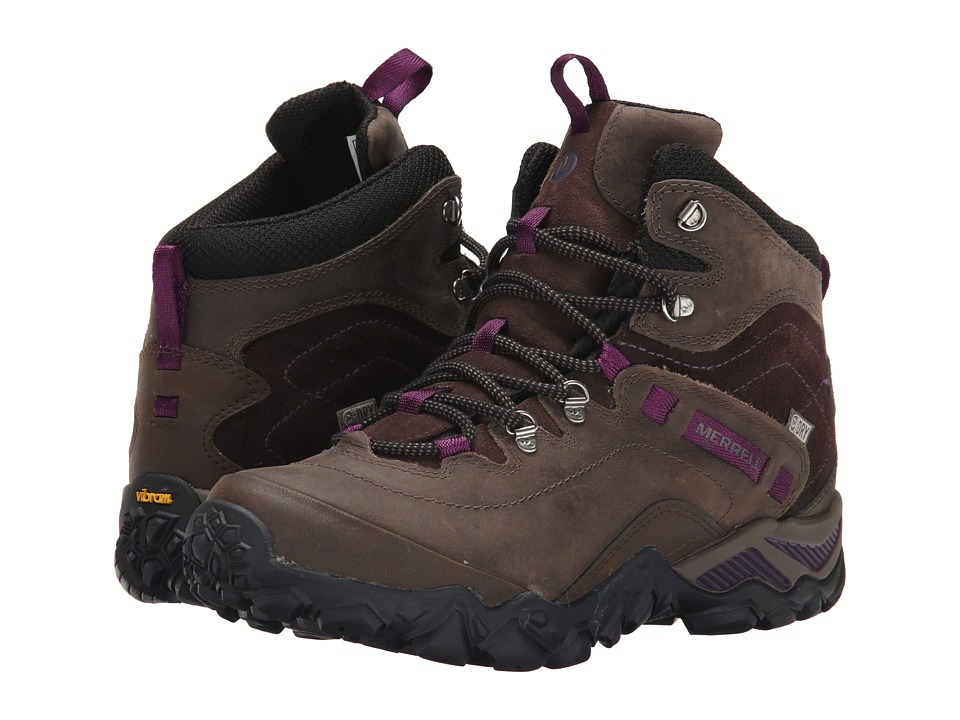 Merrell - Chameleon Shift Traveler Mid Waterproof (Olive) Women