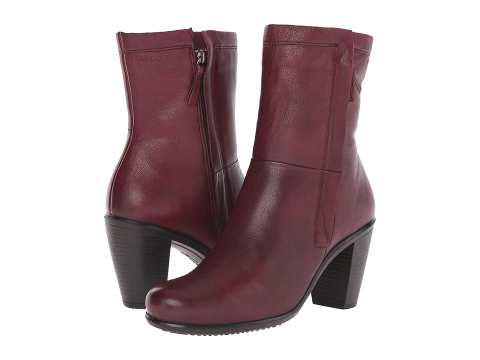 ECCO - Touch 75 Zip Boot (Morillo) Women's Dress Zip Boots