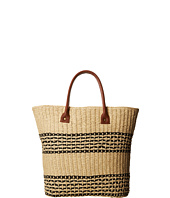 San Diego Hat Company - BSB1362 Straw Tote w/ Contrast Color Band