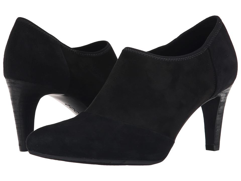 ECCO - Alicante Shootie (Black/Black) High Heels