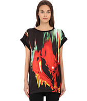 Just Cavalli - Print Front Tunic/Tee w/ Jersey Back