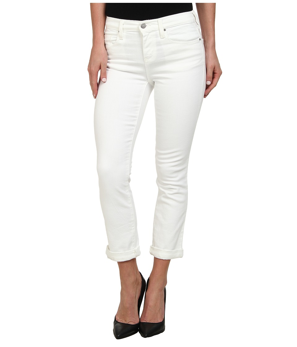 DKNY Jeans Soho Skinny Rolled Crop in White (White) Women's Jeans