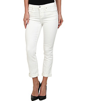 DKNY Jeans - Soho Skinny Rolled Crop in White