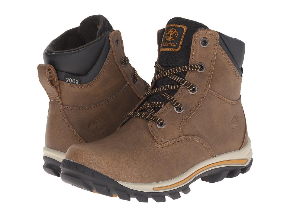 Timberland Kids Chillberg Mid Waterproof Insulated (Little Kid) (Light Brown) Kids Shoes