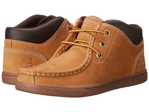 Timberland Kids Groveton Leather Moc Toe Chukka (Big Kid) - Wheat