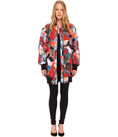 LOVE Moschino - Patchwork Print Long Bomber