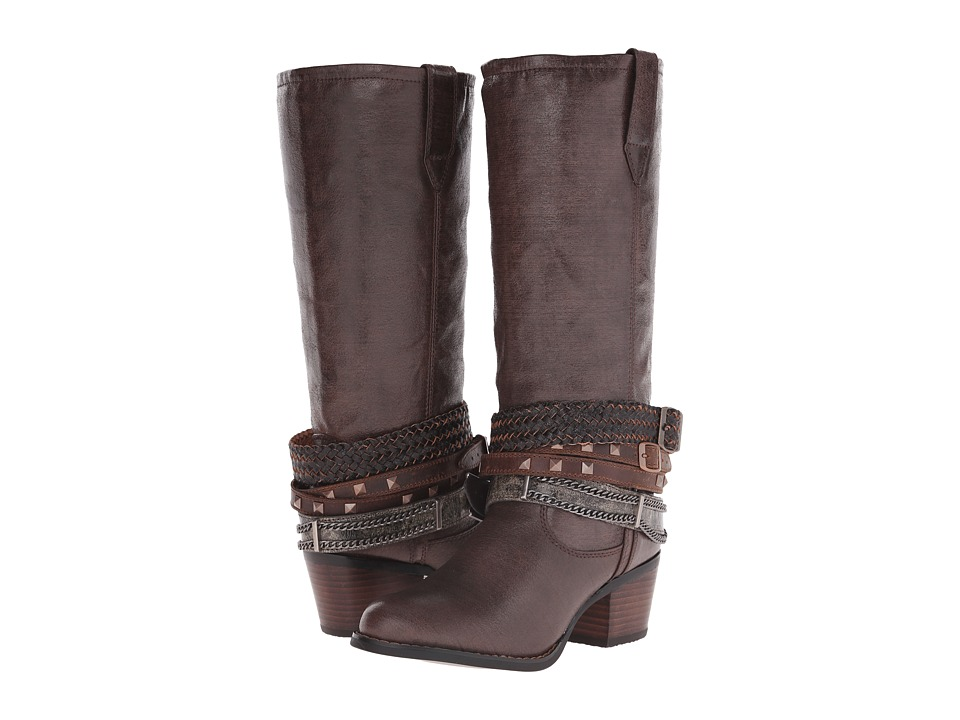 Durango - Philly 14 w/ Detachable Ankle Straps (Brown) Cowboy Boots