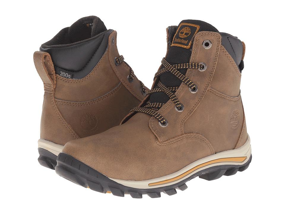 Timberland Kids - Chillberg Mid Waterproof Insulated (Big Kid) (Lite Brown) Kids Shoes