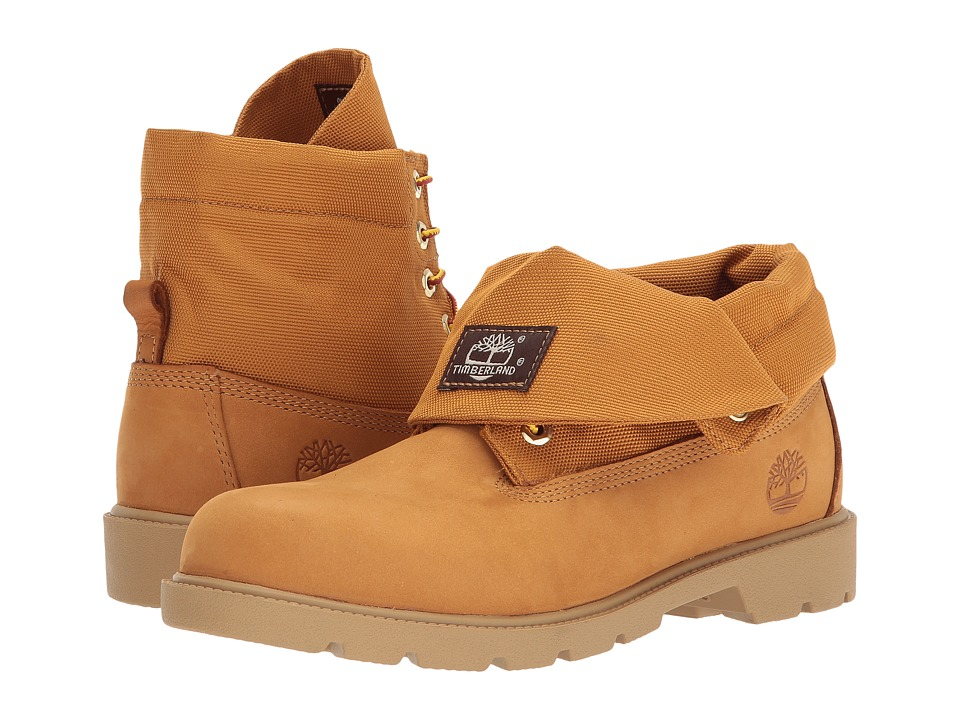 Timberland Kids Roll-Top Single Shot (Big Kid) (Wheat Nubuck) Kids Shoes