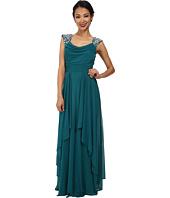 Alejandra Sky - Malinda Rhinestone Shoulder Gown