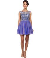 Alejandra Sky - Chloe Rhinestone Tule Dress