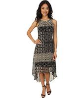 Karen Kane - Pueblo Print Hi-Lo Hem Dress