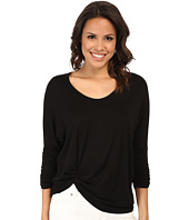 Karen Kane - Shirred Sleeve Pick Up Top